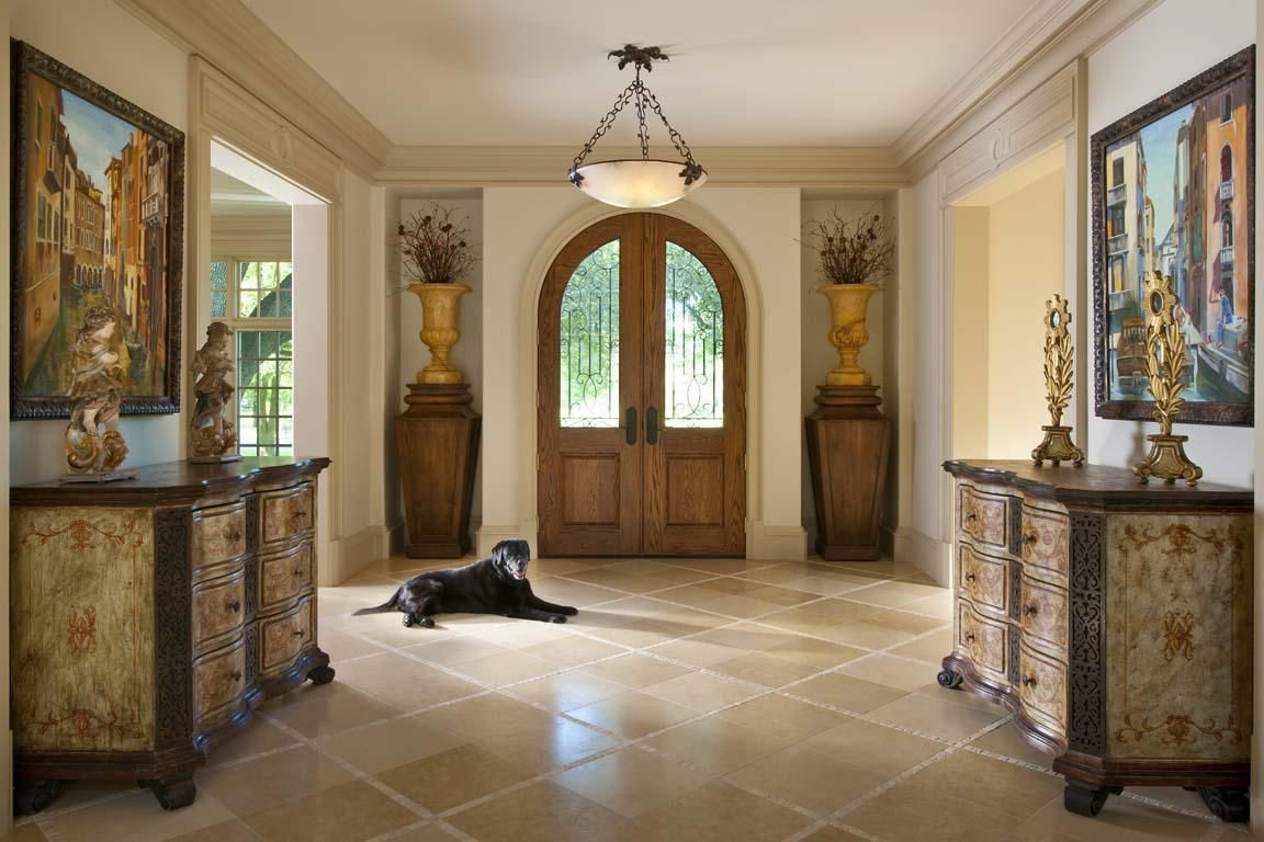 Beautiful Decorating Entryways In Entryway Decorating Ideas With Unique  Sculpture