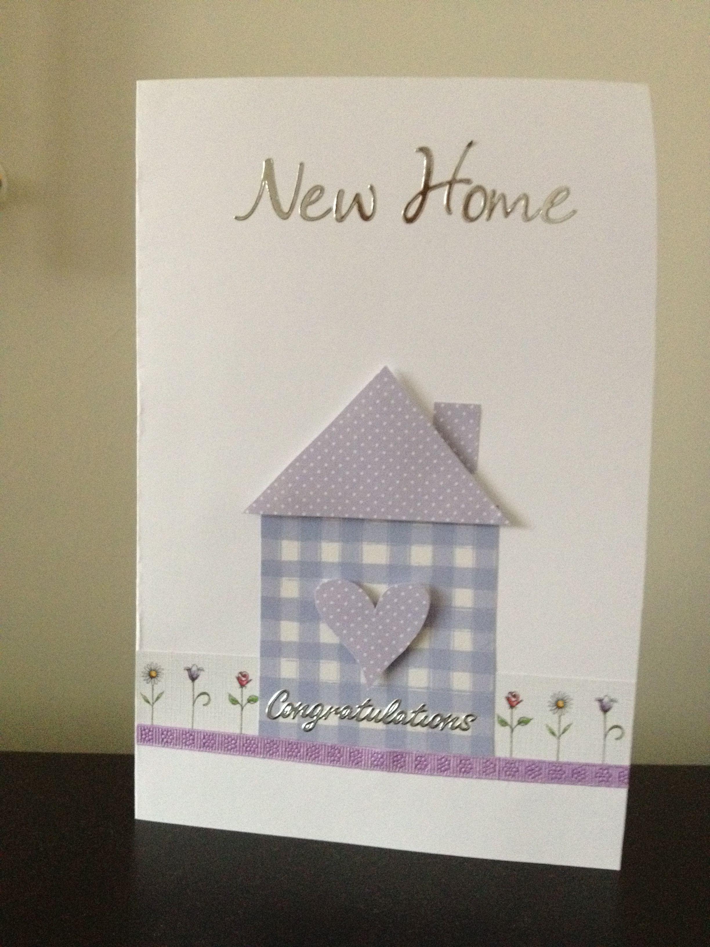 New Home Card Welcome Home Cards New Home Cards Housewarming Card