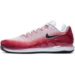 Photo of NikeCourt Air Zoom Vapor X Knit Herren-Tennisschuh für Hartplätze – Rot Nike