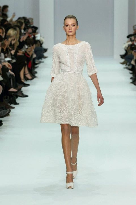 From ELIE SAAB Haute Couture Spring Summer 2012 Collection