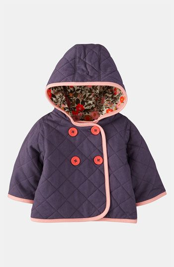 Mini Boden Quilt Jacket (Infant) available at #Nordstrom