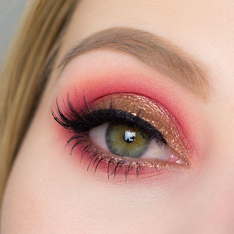 Lidschatten 1×1 – Bronze & Rot – Sabrinasbeautyparadise – Make Up und Hautpflege Blog seit 2013