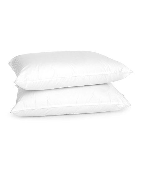 White Stay Cool Performance Pillow Zulily With Images Pillow