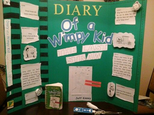 Wimpy kid reading fair wimpy kid pinterest reading for Diary of a wimpy kid crafts