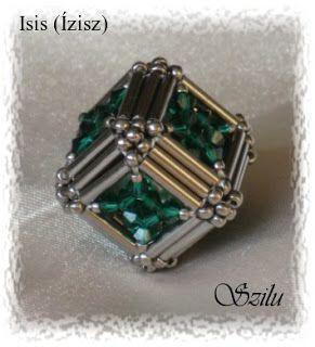 Szilu: Isis (Ízisz)    Free bead pattern