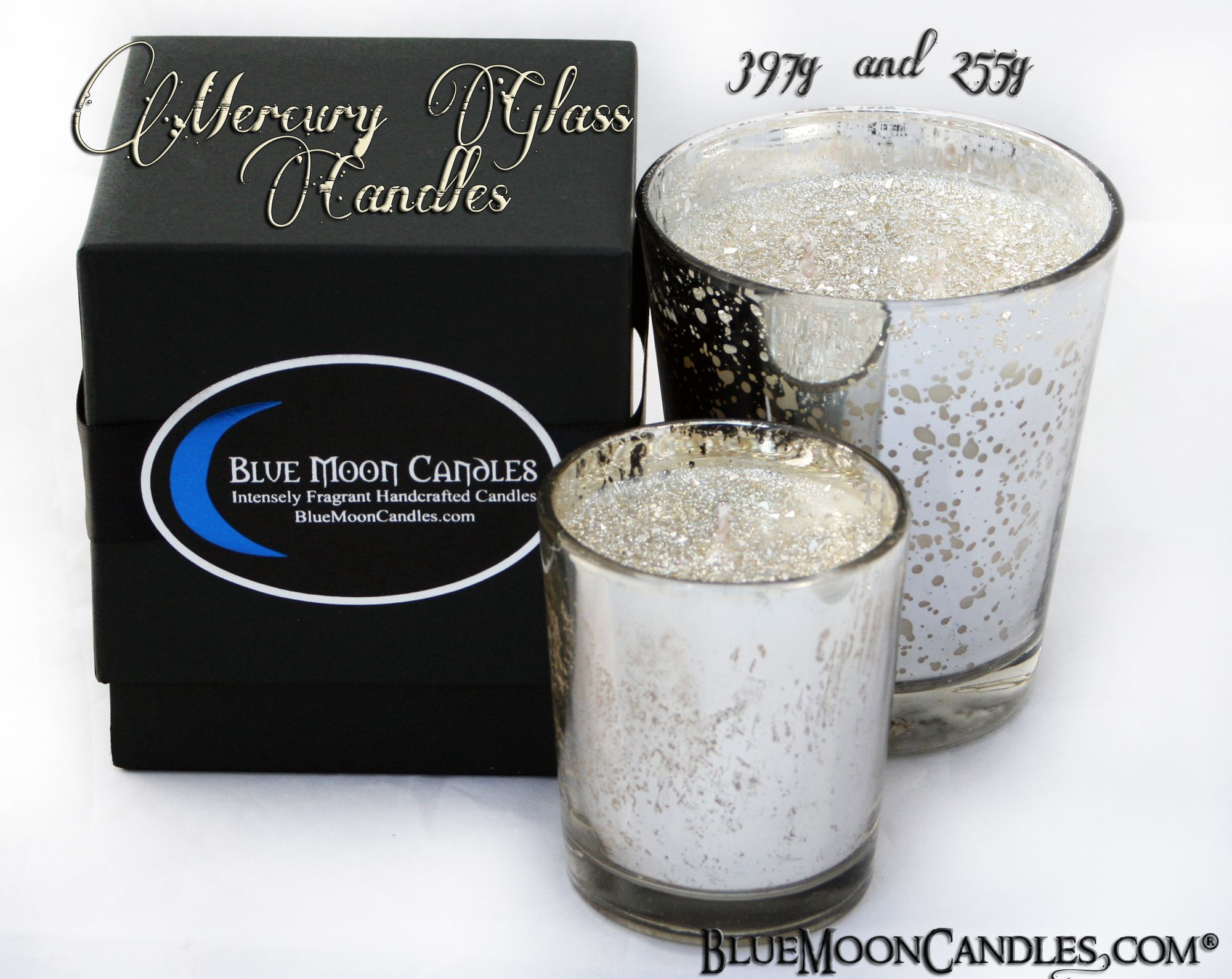mercury candles | Mercury Glass Candles