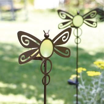 Solar Dragonfly Garden Stake   Perfect For #EarthDay And Every Summer Day.