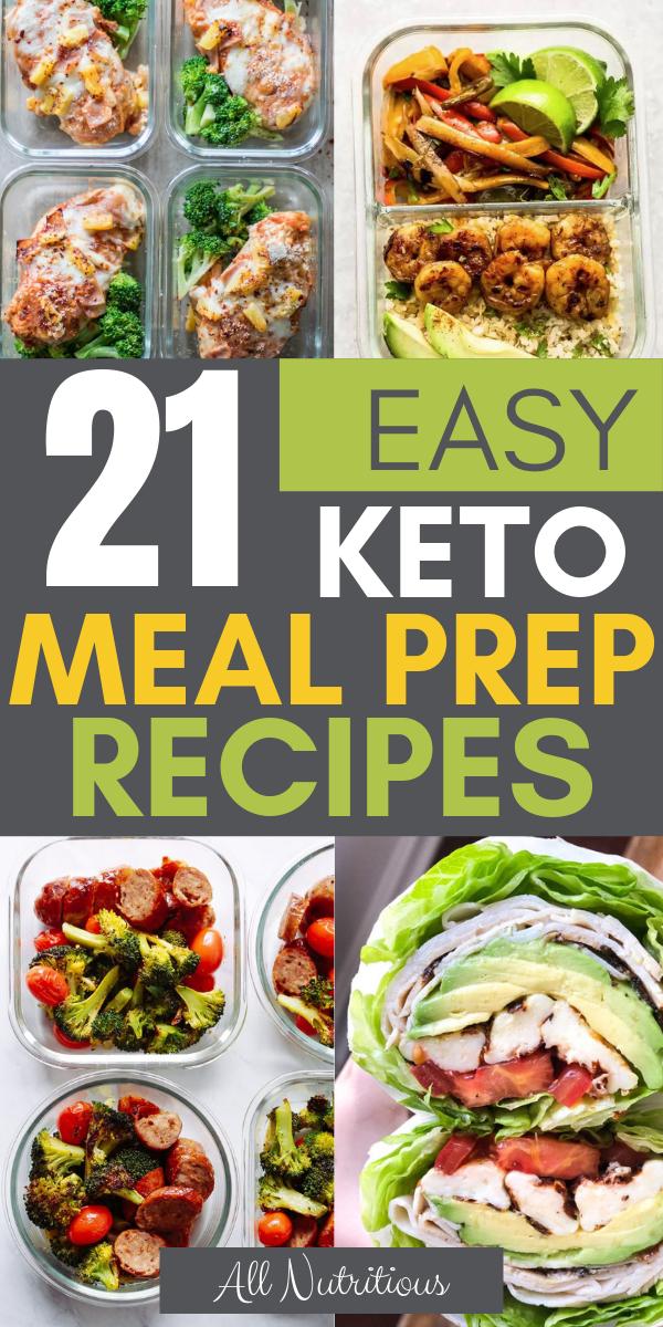Photo of 21 Easy Keto Meal Prep Rezepte #ketomealplan Probieren Sie diese einfachen Keto Meal Prep Dishe …