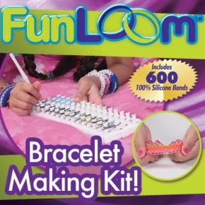 Fun Loom Bracelet Making Kit  The creation station for your imagination!  http://www.youtube.com/watch?v=oqNhlGYG-Ws&feature=youtu.be  #AsSeenOnTV