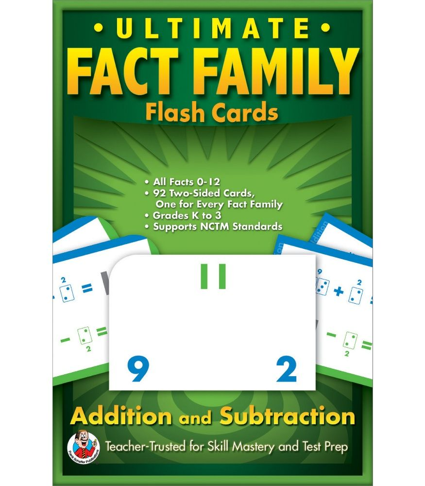worksheet Fact Family Flash Cards ultimate fact family flash cards stations math pinterest cards