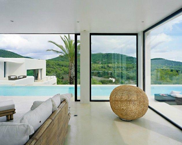 Casa Jondal 9 Ibiza Dream Residence Combining Spanish Architecture And  Modern Design Design Ideas