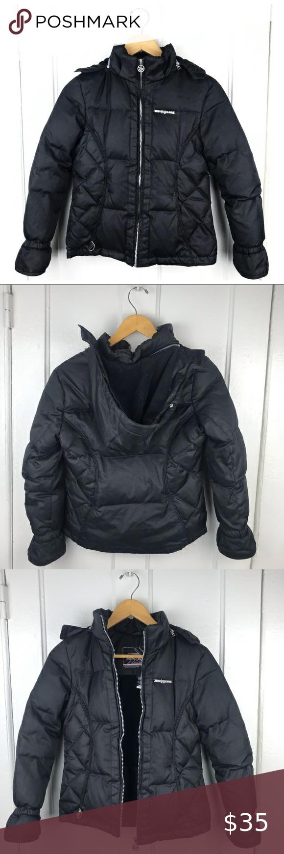 Zeroxposur Black Fleece Lined Puffer Winter Coat Girls Winter Jackets Girls Winter Coats Boys Hooded Jacket [ 1740 x 580 Pixel ]