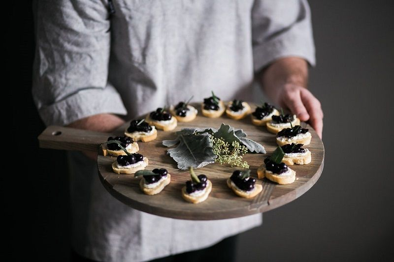 Dreamy Canapes For Your Holiday Party Event Catering Catering Creative Food