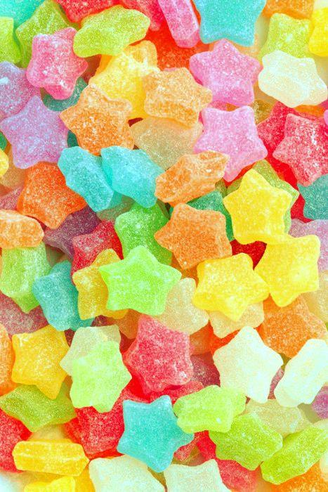 265d2b1b5f37 Gomitas en forma de estrellas   Dulces!!!   Gomitas dulces, Fondos ...