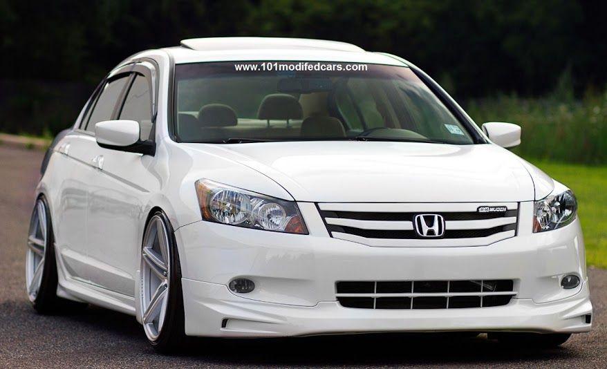 Modified Honda Accord 4 Door Sedan 8th Generation