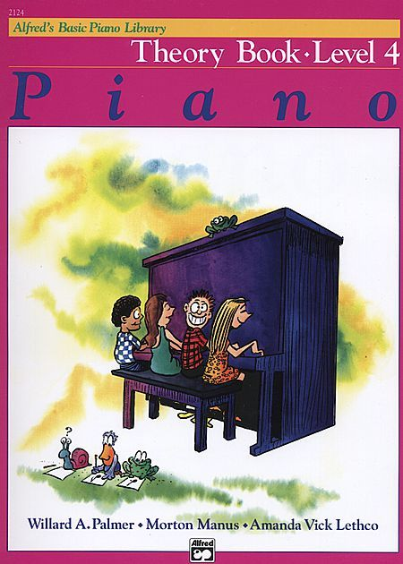 Alfred S Basic Piano Course Theory Book Level 4 Piano