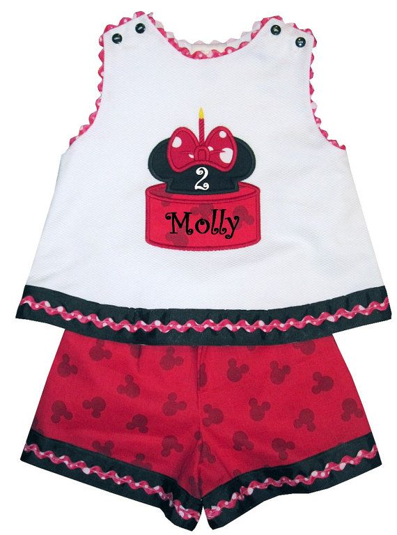 9118cf34b9 ... Beyond Dress or Outfit. Custom Minnie Mouse Birthday Cake Birthday by  ChildrensCottage, $48.00