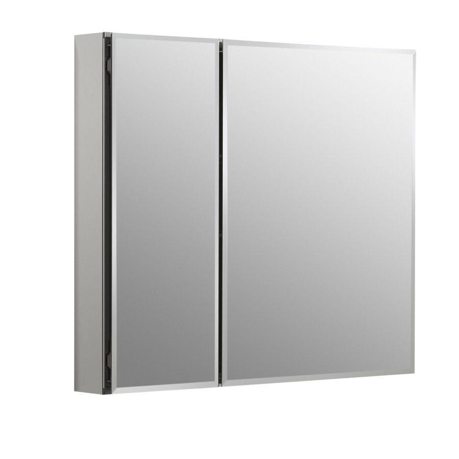Shop Kohler 30 In X 26 In Rectangle Recessed Aluminum Medicine