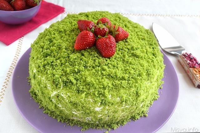 Green Cake Ricetta Ricette ღ Dolci Torte Cheesecake