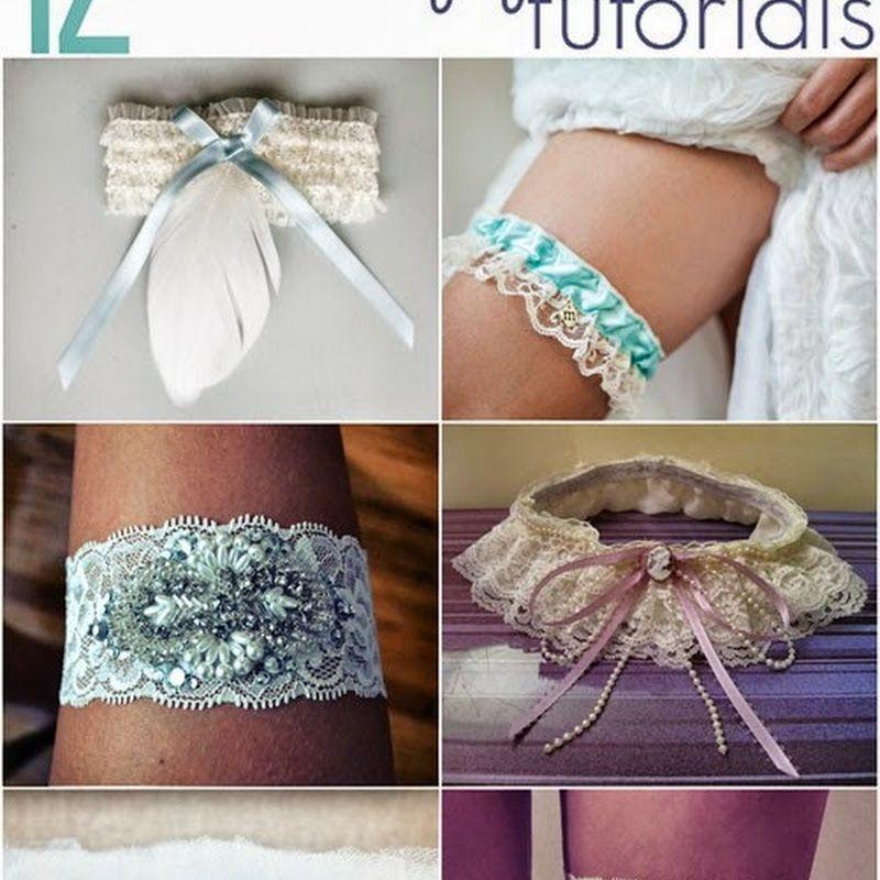 Diy Wedding Garter: All Cheap Crafts: 12 DIY Wedding Garter Tutorials
