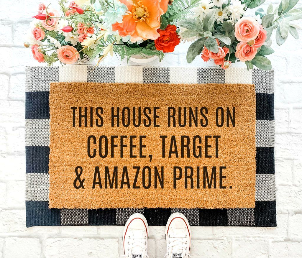 Coffee Target And Amazon Funny Doormat Welcome Mat Funny Welcome Mat Custom Doormat Door Mat