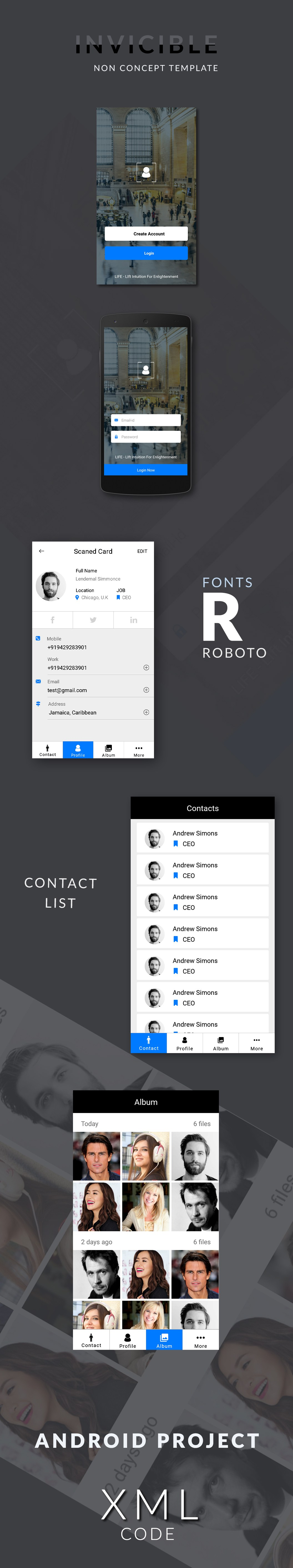 free download ui kit ready xml source code from www wsdesign