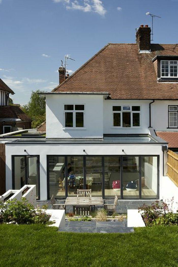 La fenêtre de toit en 65 jolies images Extensions, Rear extension