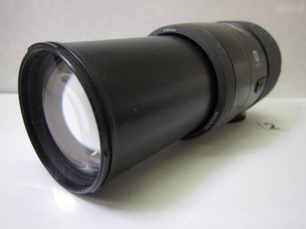 LS877CA MINOLTA AF ZOOM 75-300mm F4.5-5.6 φ55 ジャンク_画像1