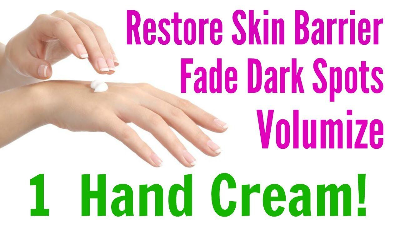 Hand REJUVENATION! How To Make Hands Look YOUNGER At Home!  Skin