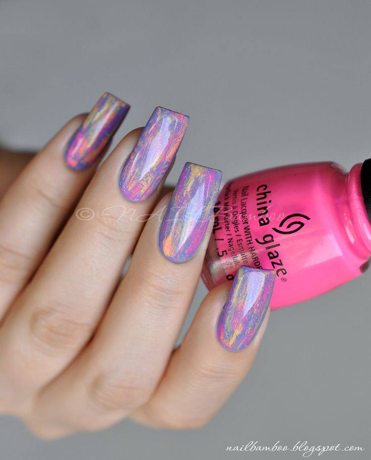 nailbamboo: China Glaze Peonies  Park Ave и...