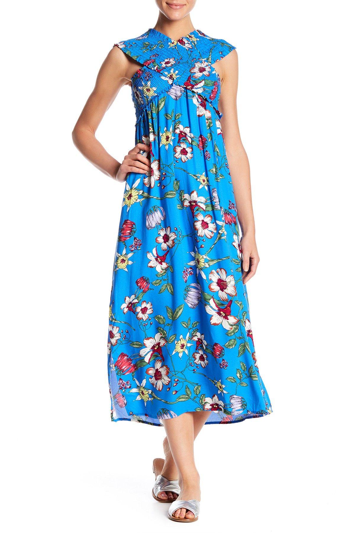 49ce4079b5497 Smocked Bodice Maxi Dress by Lush on  nordstrom rack