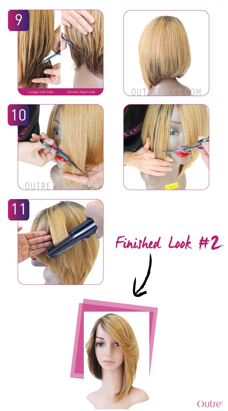 Miraculous Quick Weave Tutorial Using Duby Hair Hair Styles Wig Making Hairstyles For Women Draintrainus