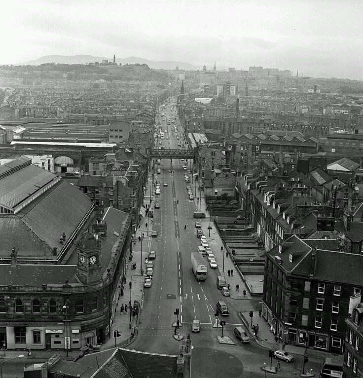 Image result for edinburgh in the 1970s