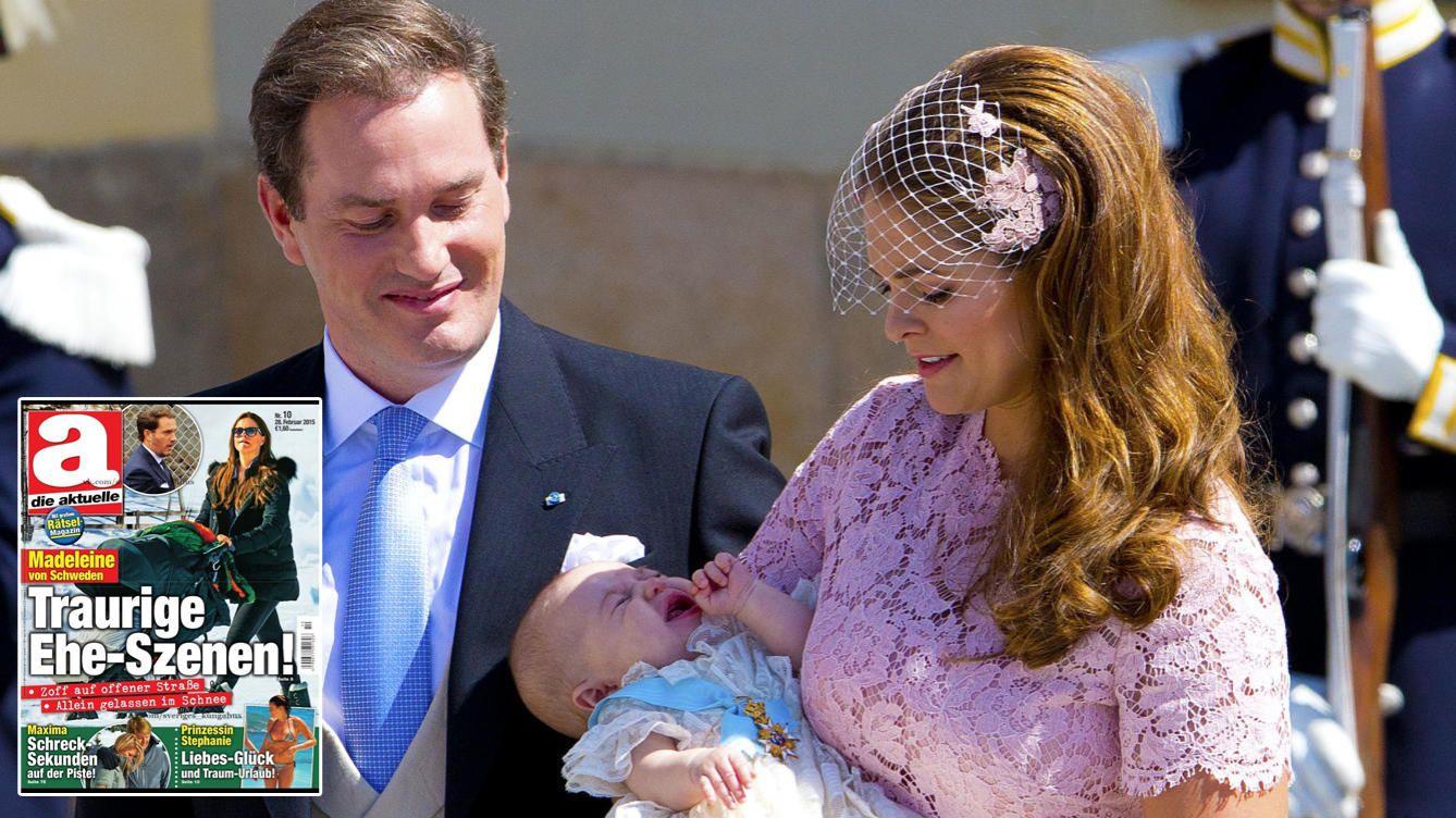 Foto: La princesa Magdalena y Chris O'Neill en el bautizo de su primogénita (Gtres)