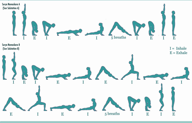 Sun Salutation A And B Jpeg 2473 1578 Yoga Sun Salutation Ashtanga Yoga Sun Salutation