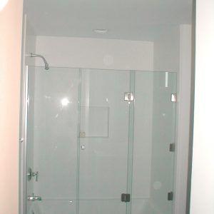 3 Panel Frameless Sliding Shower Door
