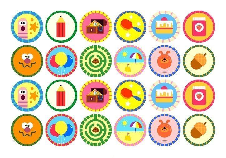 24 X Papel De Oblea Arroz Feliz Cumpleaños Comestibles Cumpleaños Magdalena Cake Toppers