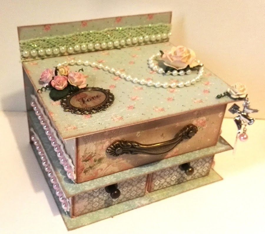 Jewelry Box El Paso Tutorial Paso A Paso ¡secret Box  Secret Box Manualidades And