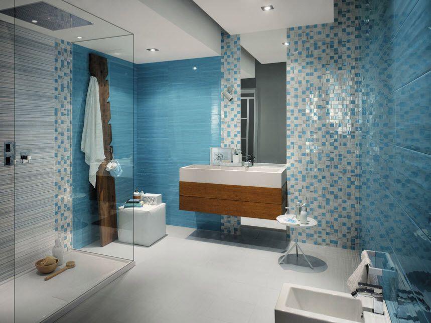 azulejos para cuartos de bao color azul y celeste