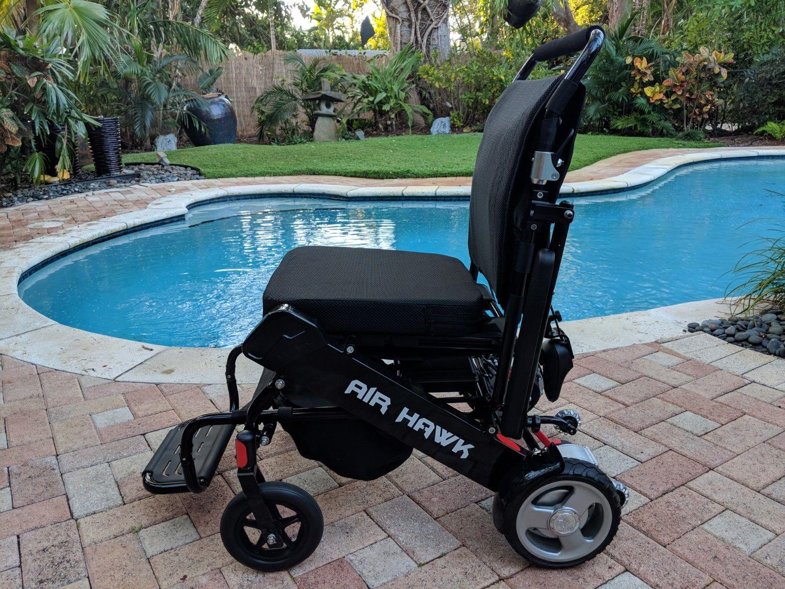 Discount Air Hawk Lightweight Folding Power Wheelchair In 2020