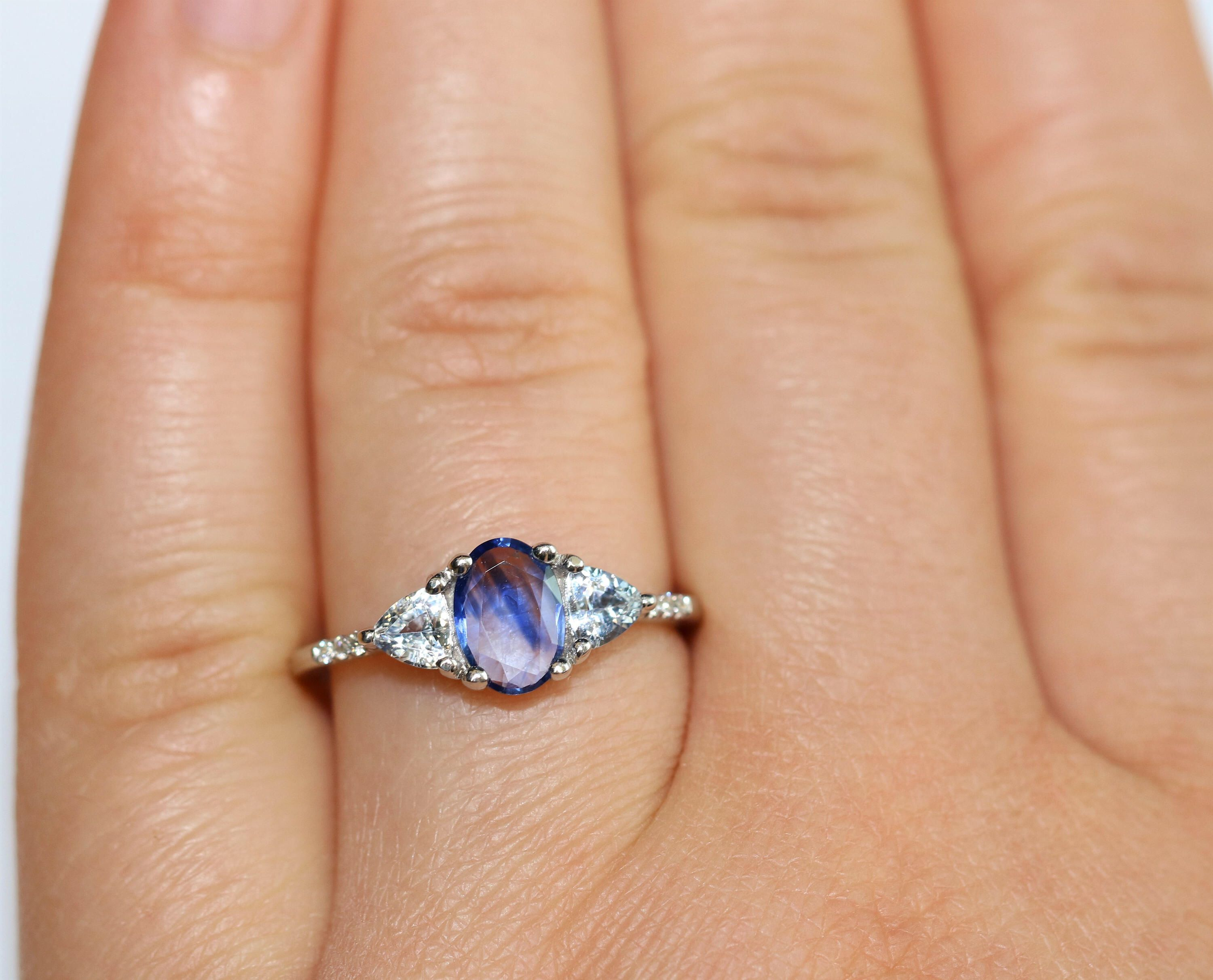 colored blog and meaning ring rings heart blue ritani of wedding the sapphire gemstone engagement
