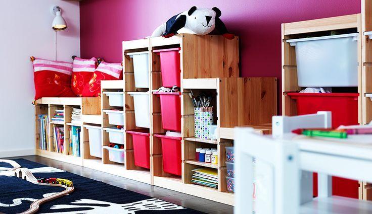 Habitaciones de ikea para ni as ikea room for girls dormitorios para ni as pinterest - Ikea almacenamiento ninos ...
