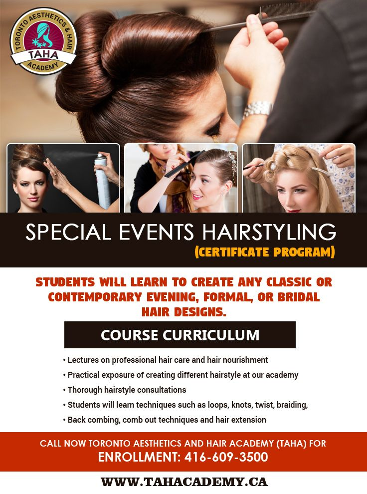 Looking for a HairStyling school near Toronto? Taha