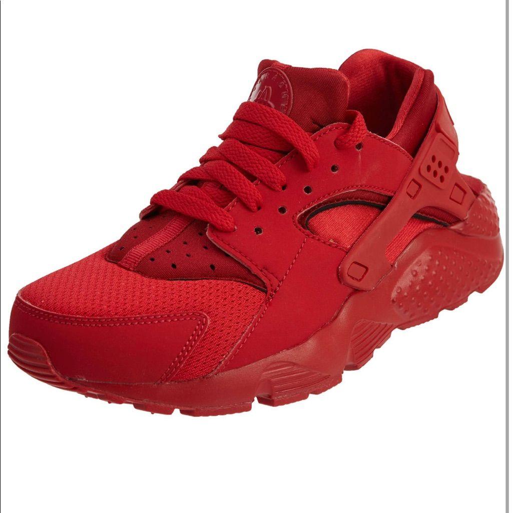 Nike Huarache run | Red nike shoes, Nike huarache run, Nike huarache