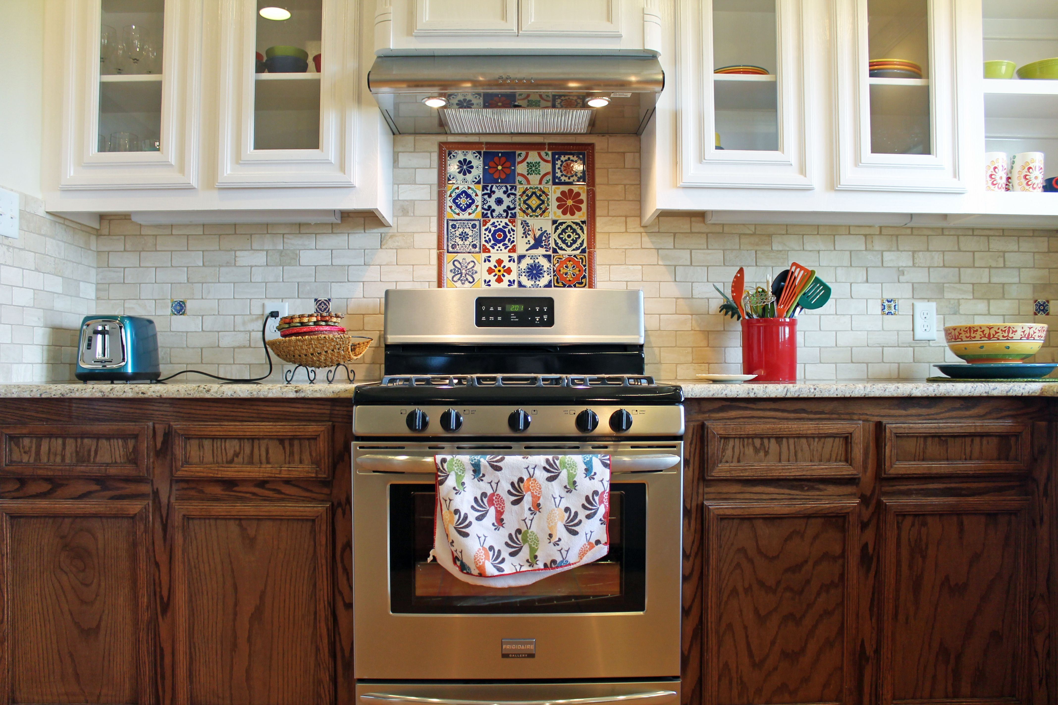 Spanish Tile Countertops Spanish Kitchen Design Talavera Tile Backsplash Ideas