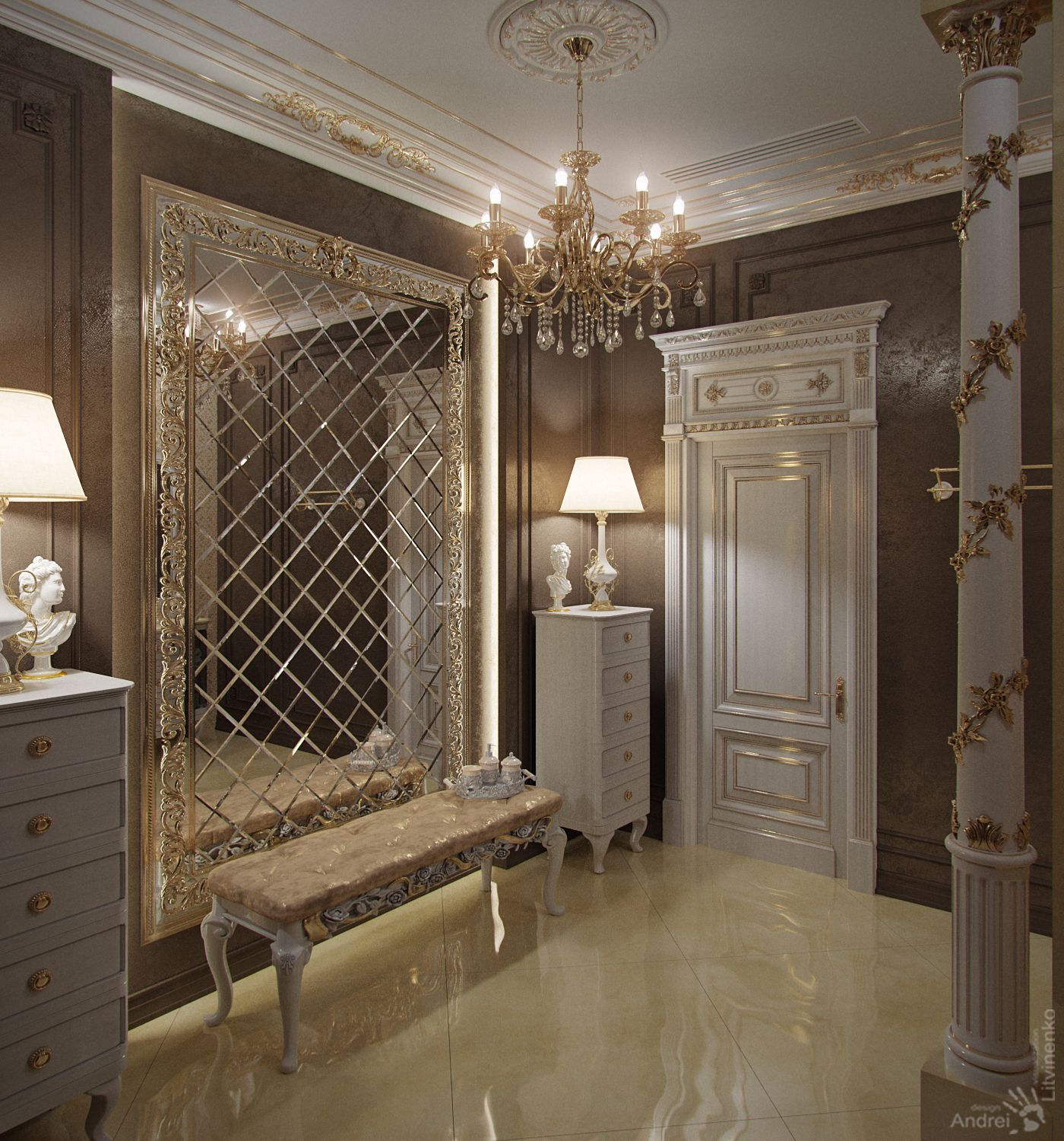 10 Adorable Round Wall Mirror Chandeliers Ideas Home Interior Design Mirror Design Wall Luxury House