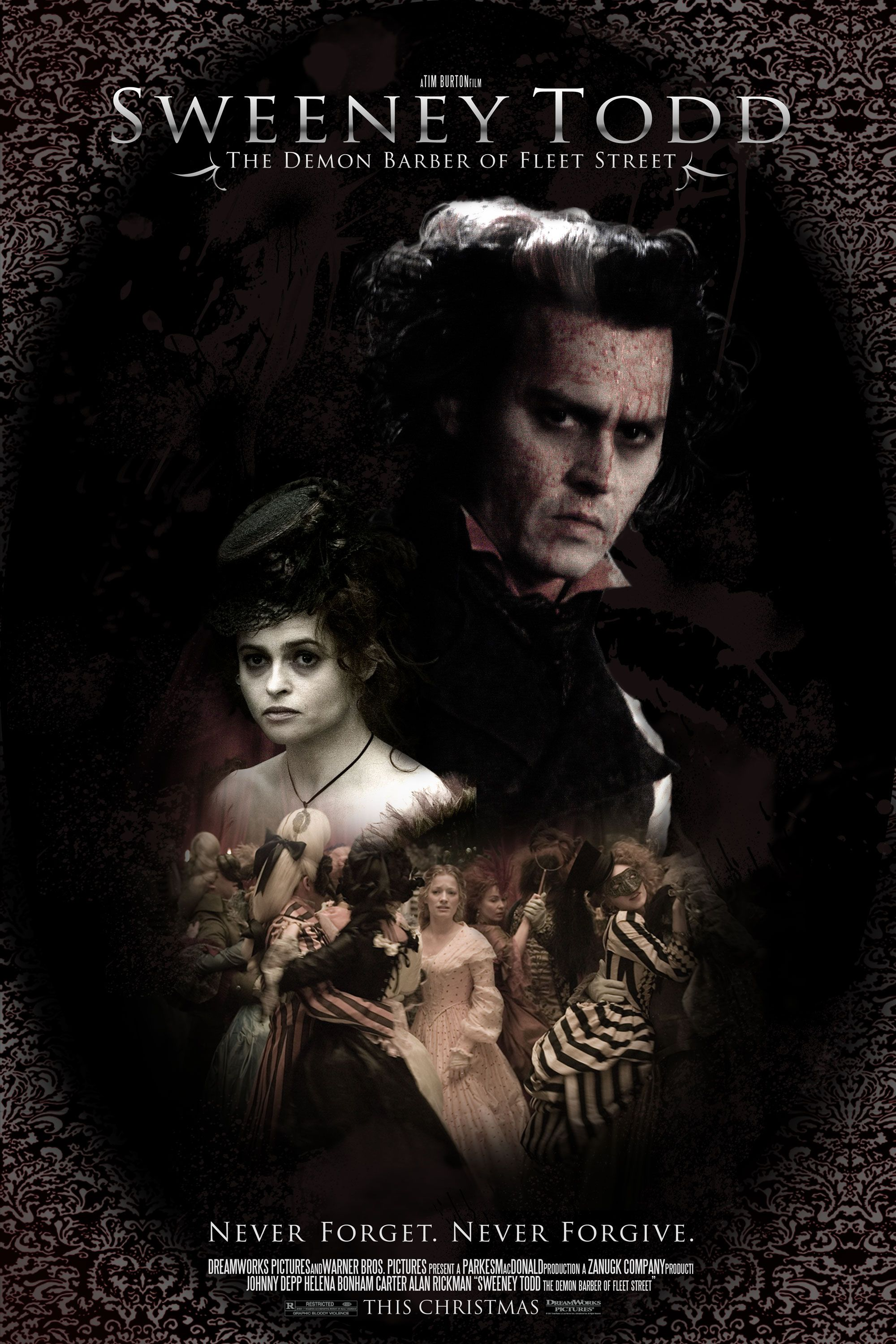 Sweeney Todd Sweeney Todd Tim Burton Movie Movies