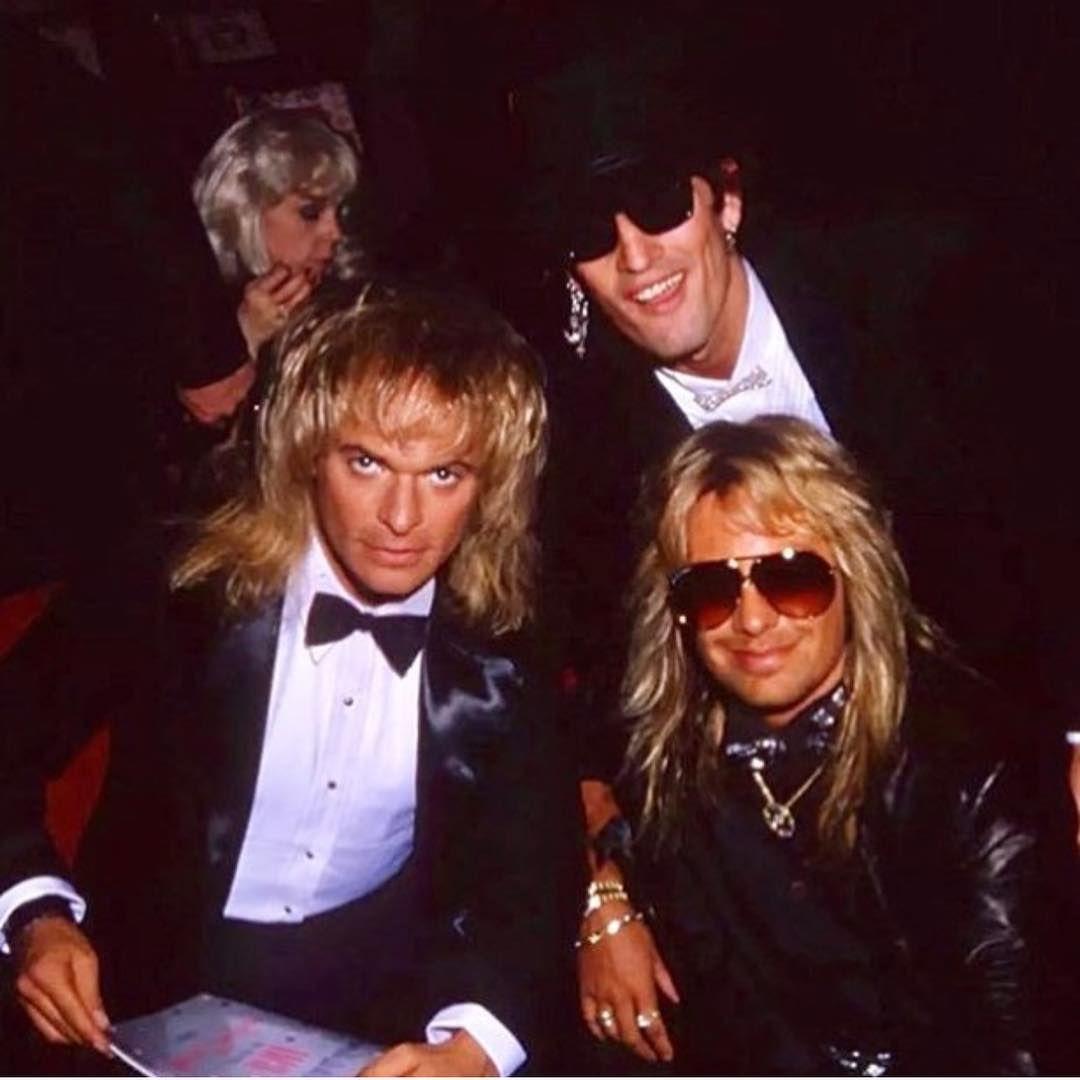 That S A Saturday Night Motleycrue David Lee Roth Glam Metal Van Halen
