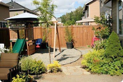 Backyard/play area