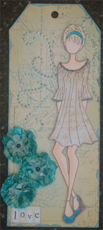 nog een Prima doll in zomer outfit, kan nog net het is best warm...